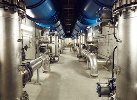 35 feet underground at microfiltration