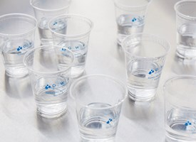 cups for GWRS water