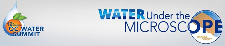 OC Water Summit logo and theme