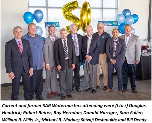 Photo of SAR Watermasters attending event